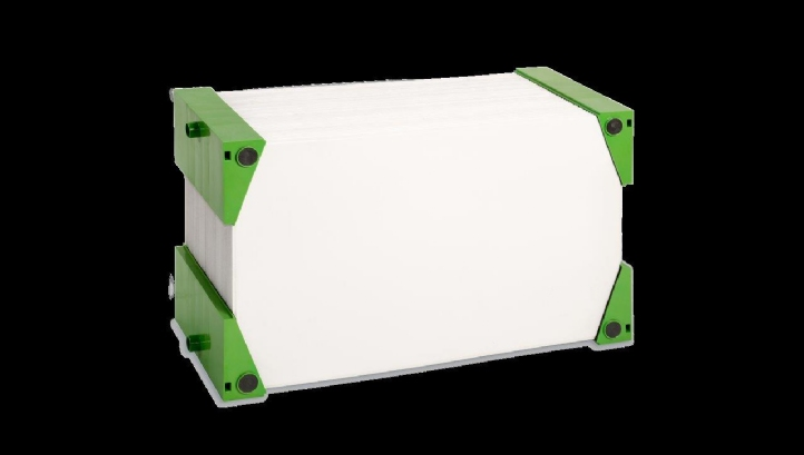 Ultrafiltration single blocks are used in H2L, a second generation submerged membrane product from WTB Vogtland