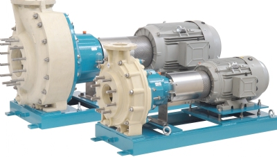 Centrifugal pumps made of thermoplastic polymers