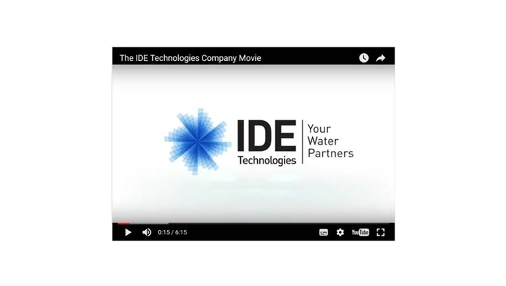 The IDE Technologies Company Movie