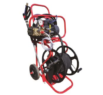 Plumbers Mate Portable Electric Trolley Jetter