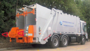 Going in for a 50:50? Try Terberg's trouble-free Tinium Split Bin Lift