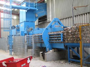 Horizontal Channel Balers