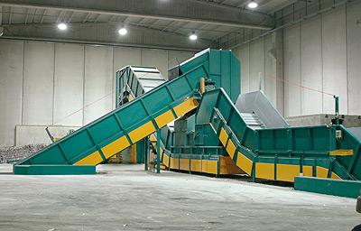 Waste Conveyors From R.C.P Macpress (UK) Ltd