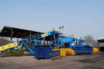 D:Max grit washing system reduces waste to landfill by 80%