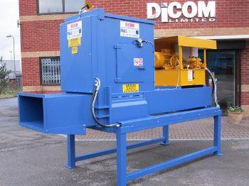 DICOM 300XLPC HIGH DENSITY PRE CRUSH STATIC WASTE COMPACTOR