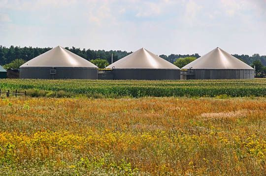 New application report: Anaerobic digestion & Biogas production
