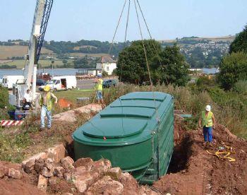 WPL HiPAF Modular packaged sewage treatment plant