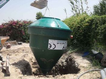 WPL Diamond Domestic Compact Sewage treatment plant options: 1 to 55 people