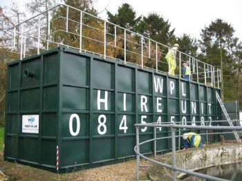 WPL Wastewater Treatment Plant Hire