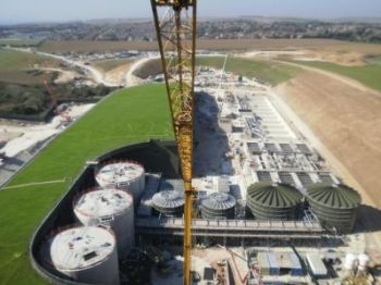 Wastewater Treatment Works - Primary and Biological Treatment