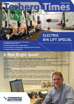 Terberg Newsletter features their full range of Electric Bin Lifts