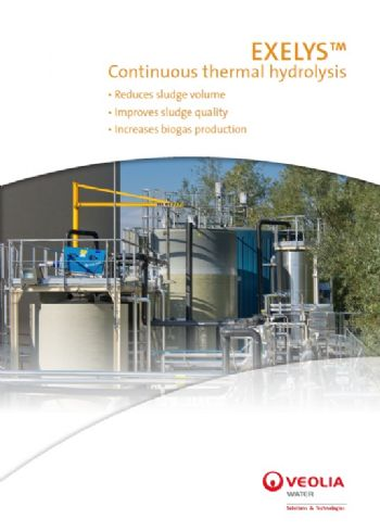 Exelys continuous thermal hydrolysis