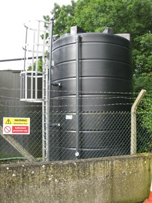 Industrial Water Bulk Storage Tank