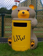 Talking Litter Bins