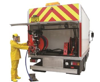 Midline Lorry Mounted High Pressure Water Jetting Vehicle