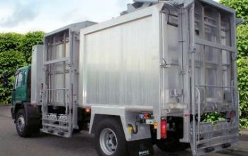TOPLOADER BIOWASTE SERIES FROM TERBERG - TOUGH, HIGH VOLUME BODIES FOR COMMERCIAL SCALE FOOD WASTE COLLECTIONS