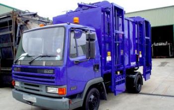 TOPLOADER  COMPACT OUR SMALLEST BRING SCHEME RECYCLING BODY SOLUTION