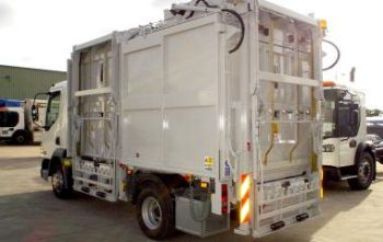 TOPLOADER  25  OUR MEDIUM VOLUME BRING SCHEME COLLECTION VEHICLE FOR PAPER, CARD, GLASS AND METAL RECYCLABLES