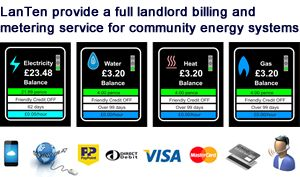 Prepayment Meters for CHP District Heating and Community Energy Networks