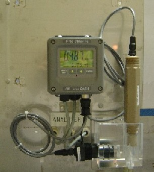 Chlorine Monitor, no reagents required!