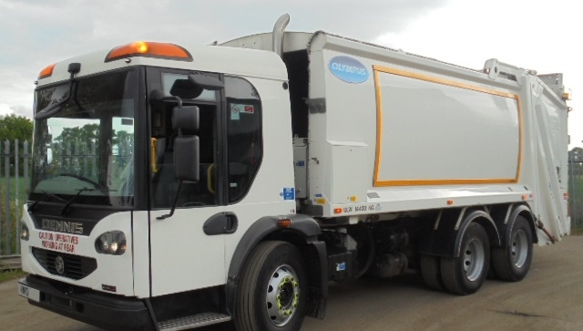 2010 YEAR 6X4 EURO 5 DENNIS REFUSE COLLECTION VEHICLE WITH OLYMPUS BODY AND TERBERG LIFT