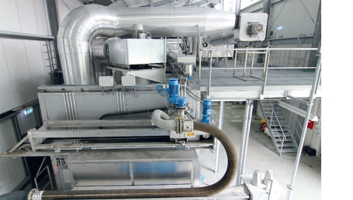 HUBER Belt Dryer BT