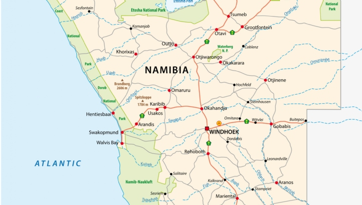 Namibia's goal is to build a desalination plant on the west coast