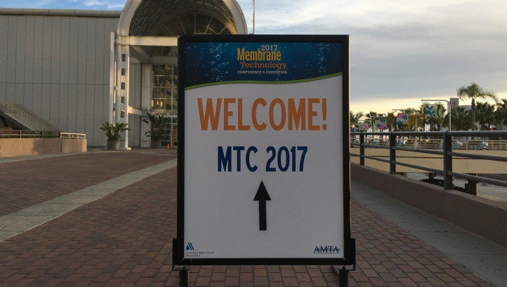 The Membrane Technology Conference 2017 in Long Beach, California, overlooks the Pacific Ocean