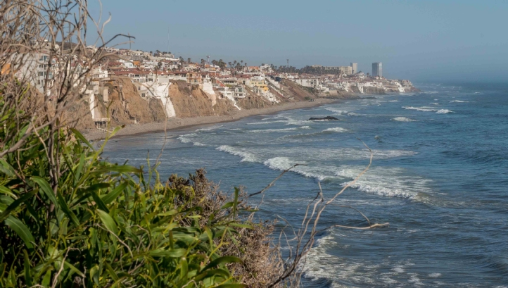 Rosarito Beach Baja California Mexico Is The Site Of Proposed Desalination Plant