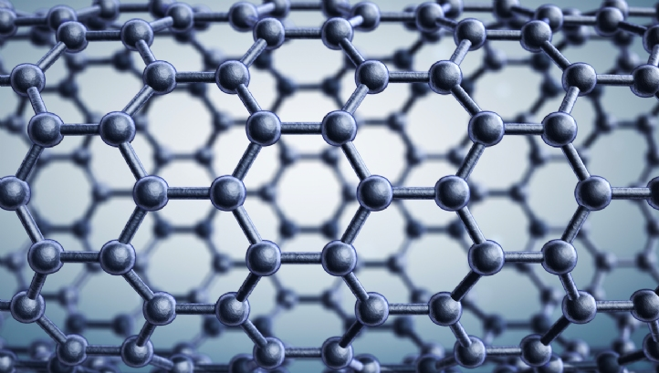 Graphene comprises a single layer of carbon atoms arranged in a hexagonal lattice