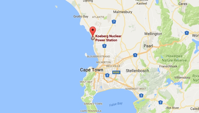 South Africa nuclear plant to install desal unit amid worsening