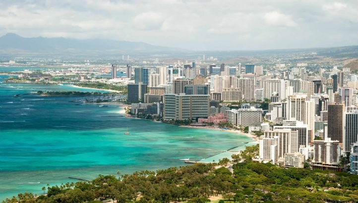 Honolulu's water reclamation plant reduces the amount of effluent pumped into the Pacific Ocean