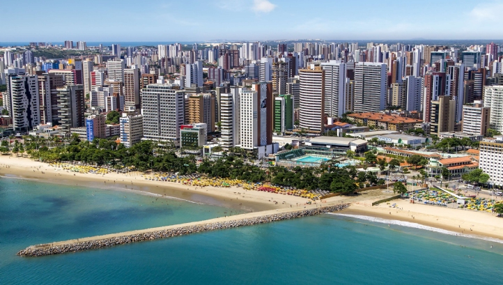 The metro region of Fortaleza, capital of Ceara state, Brazil, is home to four million people