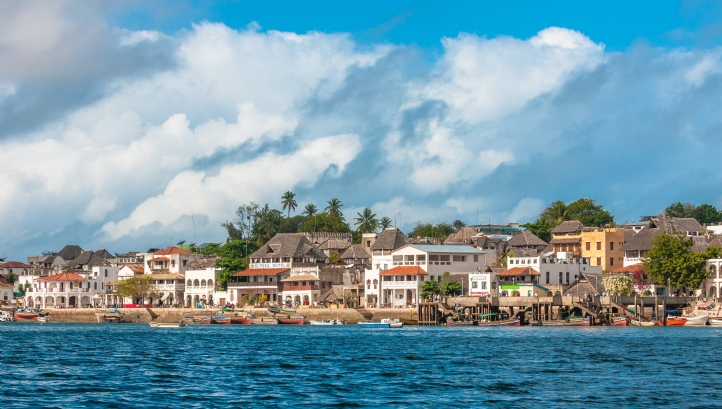 Lamu old town, Kenya, is a UNESCO World Heritage site