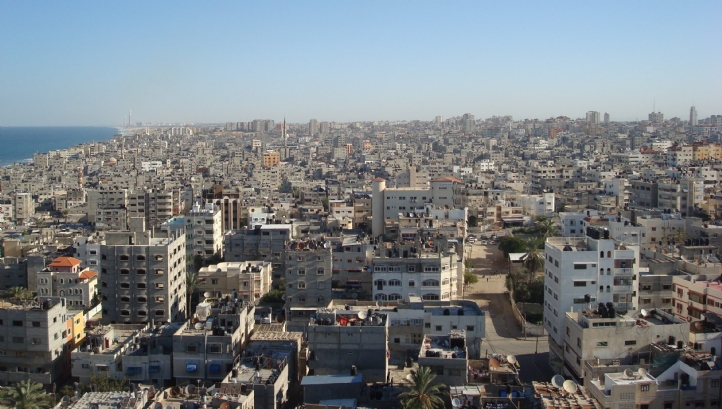 The desalination plant would provide drinking water for residents of Gaza City, Palestine