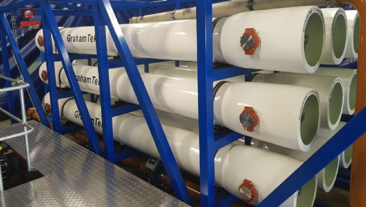 GrahamTek is an innovator in 16-inch reverse osmosis membrane technology