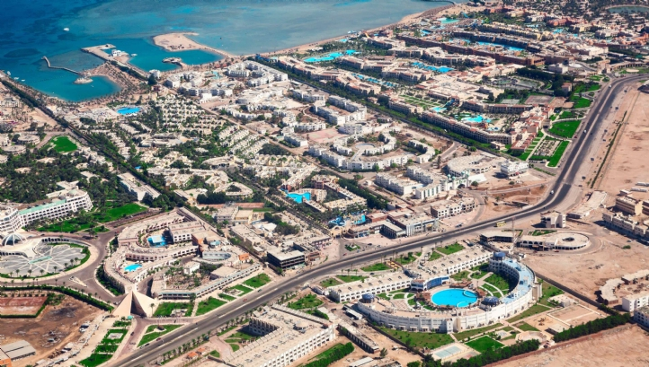 The tourist destination of Hurghada, Egypt, will benefit from new desalination capacity