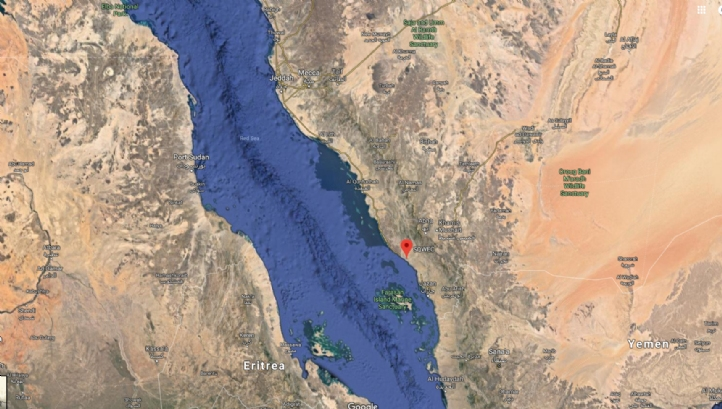 Shuqaiq is in the south of Saudi Arabia, near the border with Yemen