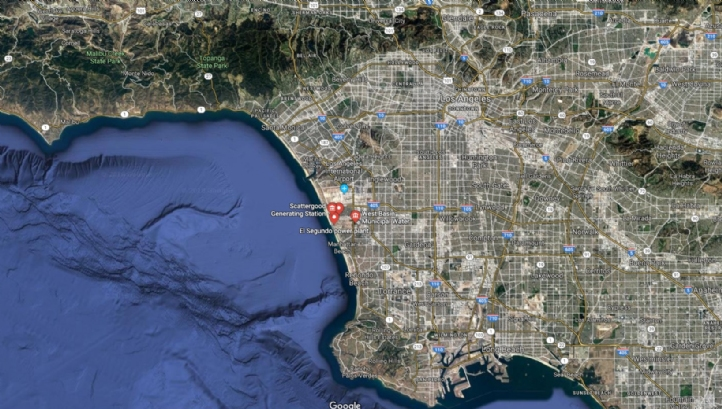 The new desalination plant is proposed for El Segundo, and will serve the whole of the West Basin district of Los Angeles County, US