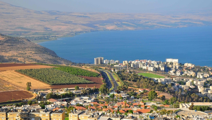 Lake Tiberius, one of Israel's main sources of fresh water, is at its lowest level for more than 100 years