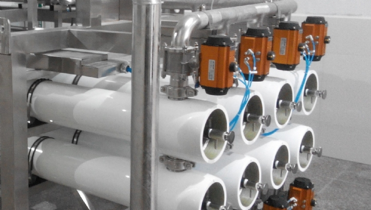 Rotec's flow reversal technology was retrofitted into Kranji Water Reclamation Plant in Singapore