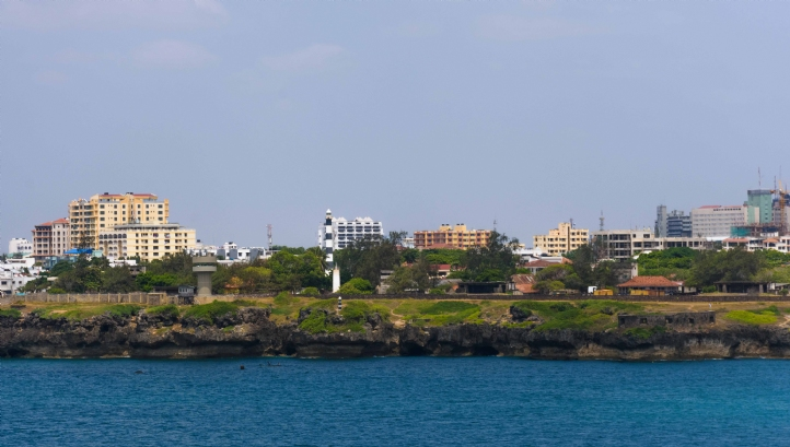 The new desalination plant will serve residents of Kenya's Mombasa County
