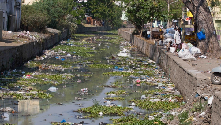 India's waterways became increasingly polluted as industrial growth outpaced regulation