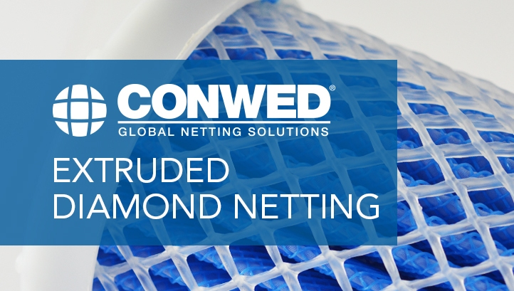 CONWED EXTRUDED DIAMOND NETTING
