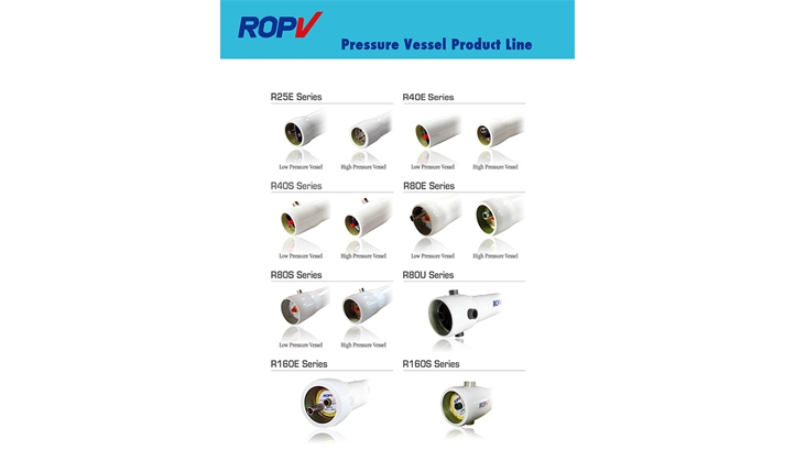 ROPV Pressure Vessel Product Line