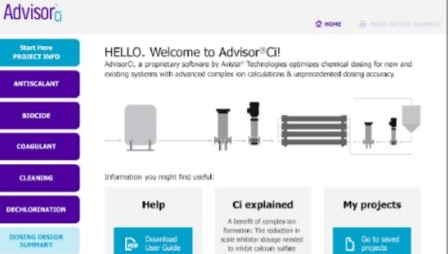 AdvisorCi Chemical Dosing Software