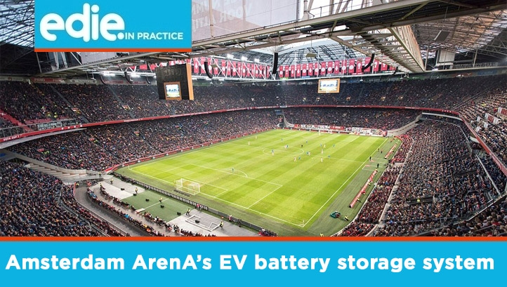 Eaton and Nissan will install the xStorage Building System in the football stadium's car park in early 2018