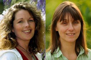 (L-R): Sue Armstrong-Brown joins the Circular Economy Task Force as Julie Hill moves on to WRAP