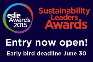 You have just over six weeks to enter the 2015 Sustainability Leaders Awards