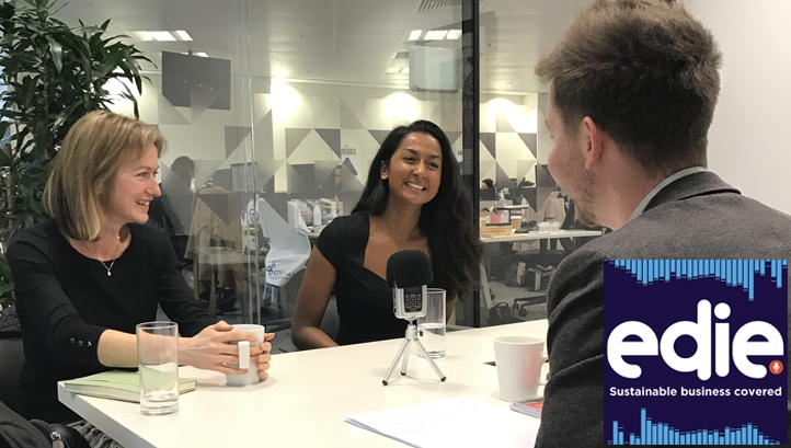 Costa Coffee's CSR programme manager Victoria Moorhouse (left) and the Rainforest Alliance's marketing associate Reena Chadee (right) are the special guests on this week's show